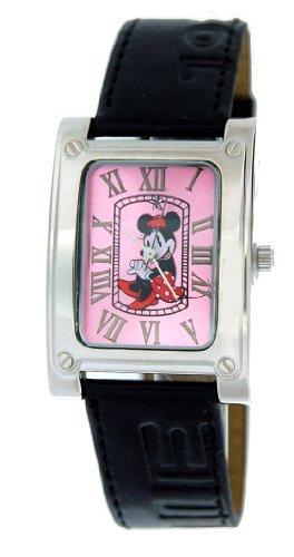 Disney Minnie Maus Uhr Lederband