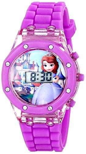 Disney Kids SOF1497 Sofia the First Digital Purple Watch