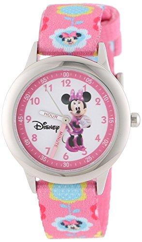 Disney Kids W000036 Minnie Mouse Time Teacher Stainless Steel Watch