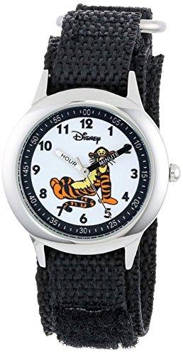 Disney Kids W000101 Tigger Stainless Steel Time Teacher Watch