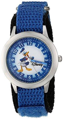 Disney Kids W000149 Donald Duck Stainless Steel Watch