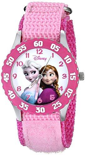 Disney Kids W000970 Frozen Snow Queen Watch with Pink Nylon Band