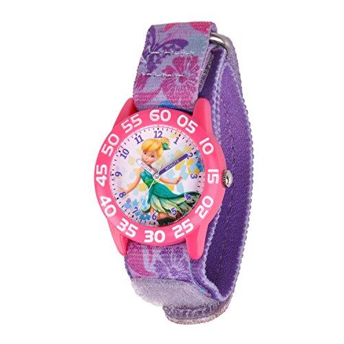 Disney Kids W001184 Tinkerbell Time Teacher Watch