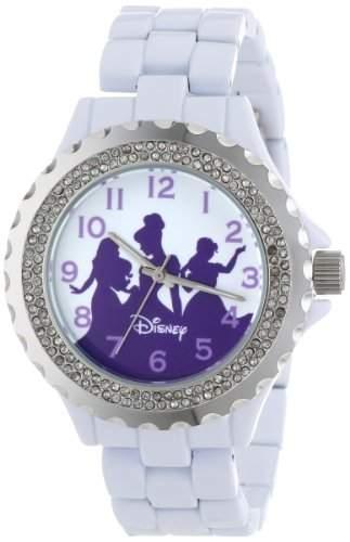 Disney Damen W000498 Princess Enamel Sparkle Bracelet Uhr