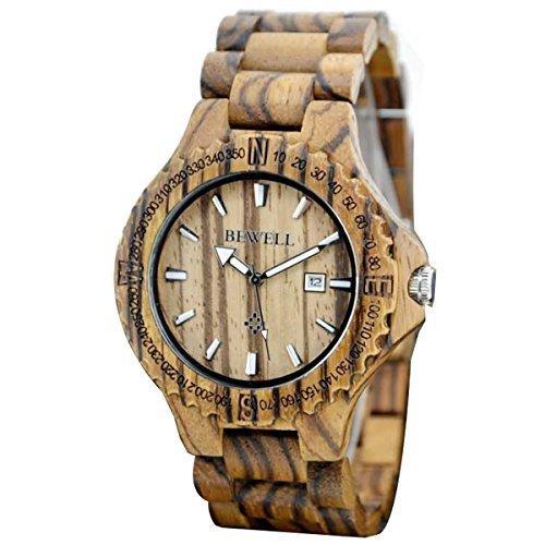 OrrOrr Holz Armbanduhr