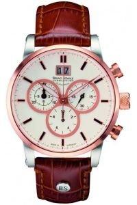 Bruno Soehnle Idas Chronograph Quarz Leder 17 53084 241