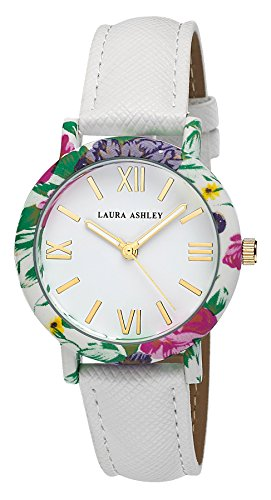 Laura Ashley Damen Armbanduhr LA31003WT