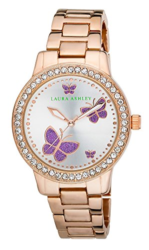 Laura Ashley Damen Armbanduhr LA31015RG