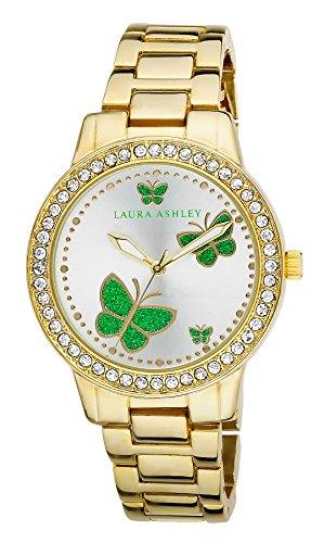 Laura Ashley Damen Armbanduhr LA31015YG