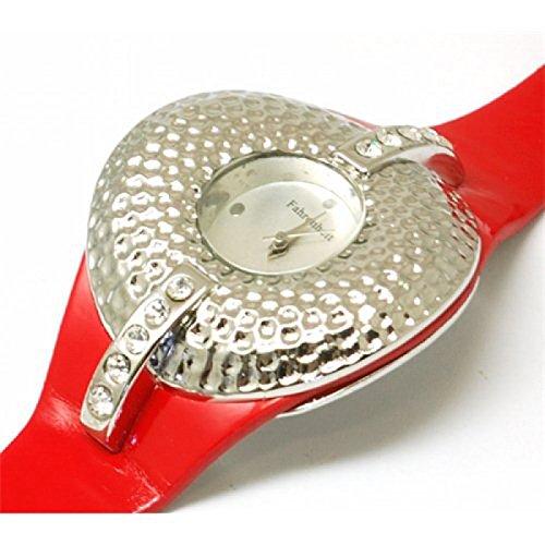 FAHRENHEIT FH 8004 modische mit rotem Armband