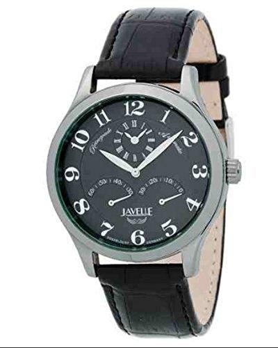 Javelle Herren Automatik Uhr J49027 mit zweiter Zeitzone