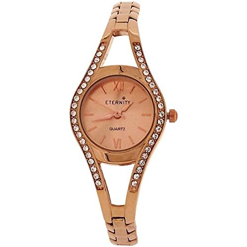 Eternity Swarovski Kristall Luenette rose goldfarbenes Armband ET810A