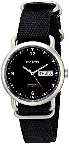 Jack Spaten Classic Militaer Conway Runde Uhr 38 mm