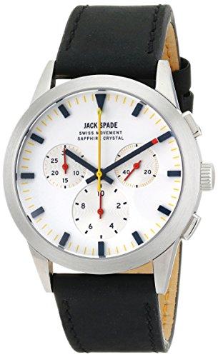 Jack Spaten Herren wuru0106 Barrett Analog Display Swiss Quartz Black Watch