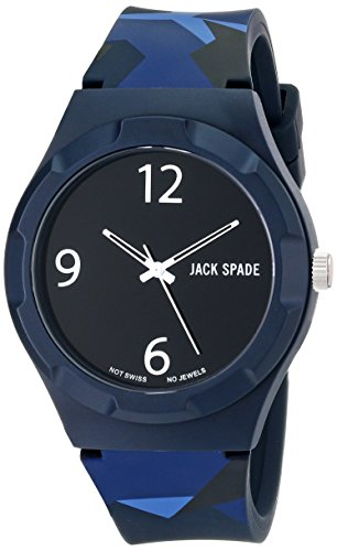 Jack Spaten Herren wuru0127 Graphic Analog Display Japanisches Quarz Mehrfarbig Armbanduhr