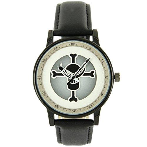 Rebirth Uhren Damen Leder schwarz Totenkopf Rebirth 2022