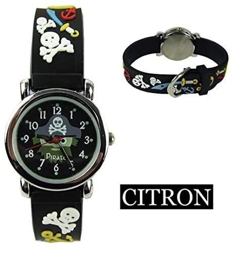 Citron Kinder-Armbanduhr Analog Gummi ats25923