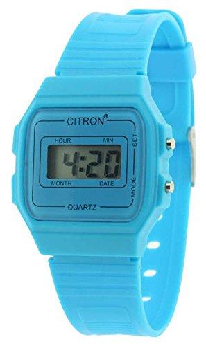 bluechilds Kinder Damen Digital Armbanduhr verpackt und garantiert