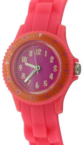 Citron Children- Armbanduhr Analog Quarz Silikon, Pink, KID111,