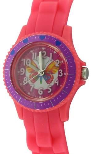 CITRON Kinder-Armbanduhr Analog silikon rosa KID126