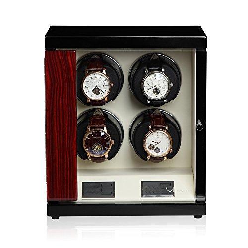 Luxwinder Flint LV2 Uhrenbewger fuer 4 Automatikuhren makassar powered by Modalo beige 6204622