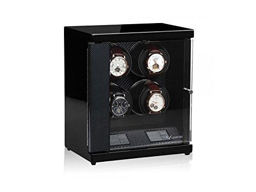Luxwinder Flint LV2 Uhrenbewger fuer 4 Automatikuhren powered by Modalo carbon 6204882