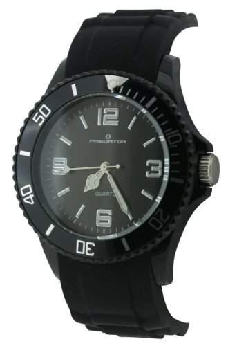 Predator PRE99B Armbanduhr Quarz Analog Armband schwarz