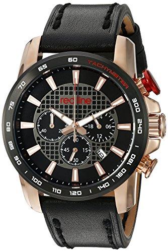 Redline Herren Armbanduhr RL 300 RG 01 BB