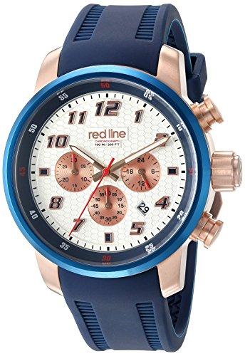 Redline Herren Armbanduhr RL 303C RG 02S BLA
