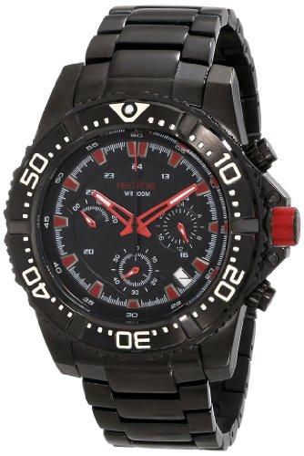 Red Line rl 50030vk bb 11rd Armbanduhr Quarz Chronograph Armband Edelstahl schwarz