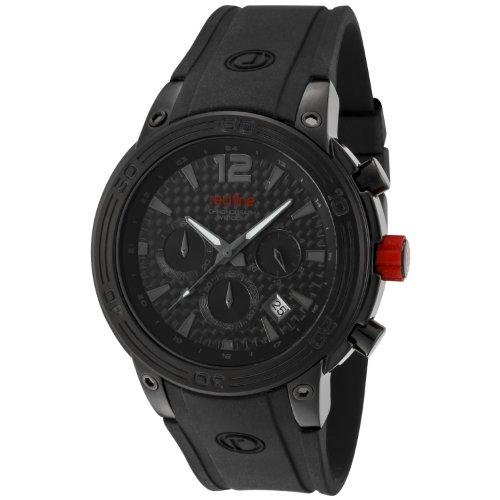 Red Line rl 50033 bb 01 Zeigt Herren Quartz Chronograph Armband Gummi schwarz