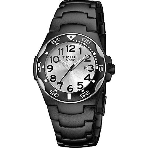 Uhr Breil Tribe Damen ew0186 Quarz Batterie Aluminium Quandrante weiss Armband Aluminium