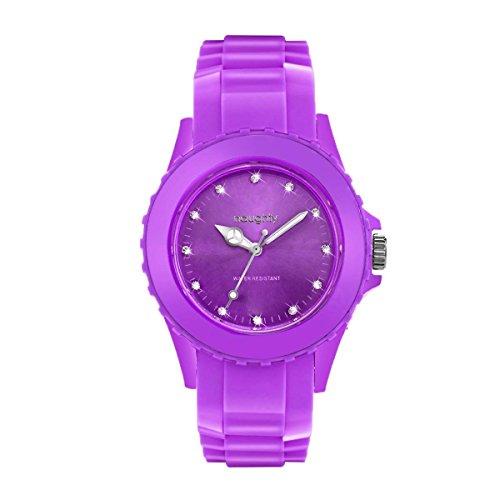 Wunderschoene mit Kristallen Swarovski Silikon Violett 37