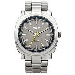 BASE LONDON HE Armbanduhr silberfb Ziff bl Metallarmband Q97 00BL