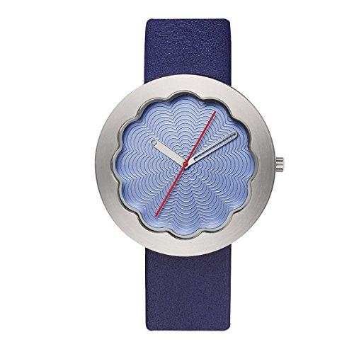 Lavendel Scallop 40 mm Armbanduhr von Michael Graves fuer Projekte