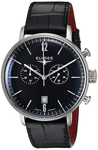 Elysee Herrenuhr Chronograph Classic Edition STENTOR 13277