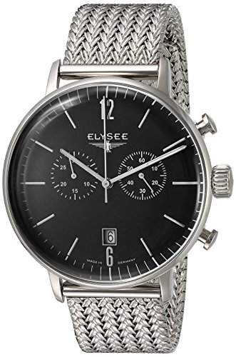 Elysee Herrenuhr Chronograph Classic Edition STENTOR 13277M