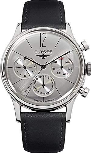 Elysee Herrenuhr Chronograph Edition Classic 38012