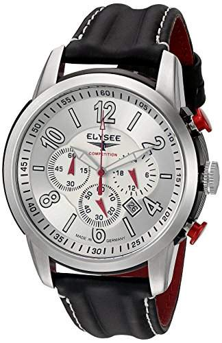 ELYSEE Herren Chronograph schwarzsilber 80523L