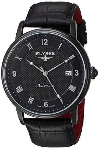 ELYSEE Herren Automatikuhr schwarz 77007