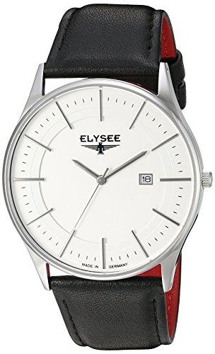 ELYSEE Herrenuhr schwarz silber 83015L