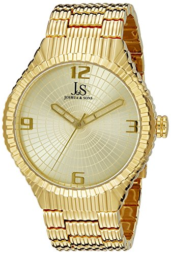 Joshua Sons Herren Armbanduhr Analog Quarz JS99YG