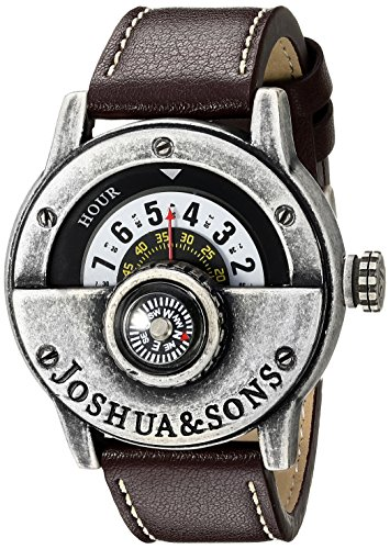 Joshua Sons Herren Armbanduhr Man Analog Quarz JX116SSBR