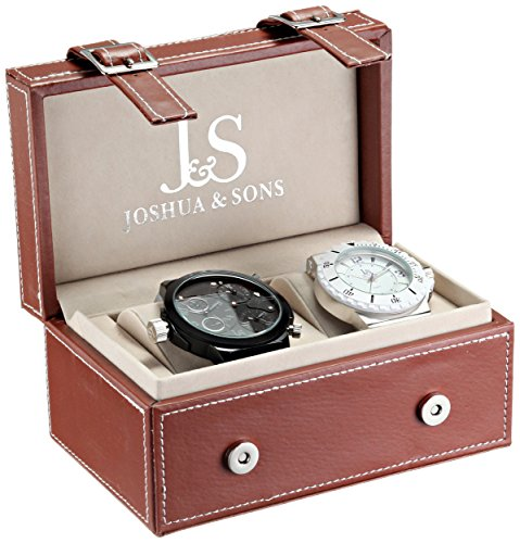 Joshua Sons Herren Armbanduhr JS 46 02 Analog Quarz