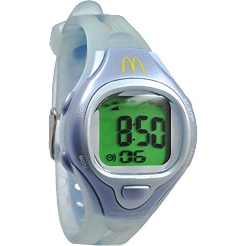 MCDONALD S Sportech Damen hellblau Racer Sport Armbanduhr mdw4501