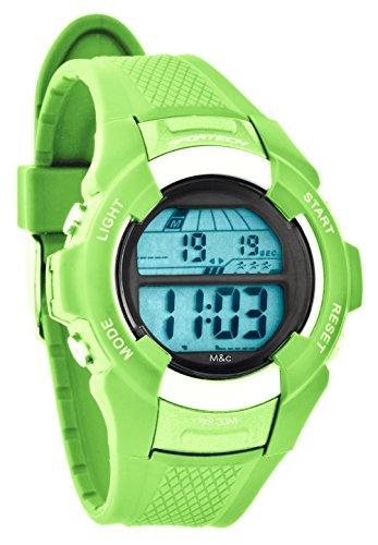 Sportech SP10804 Armbanduhr digital Unisex Limettengruen