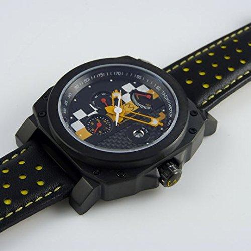 Veloce Giallo Racing Armbanduhr