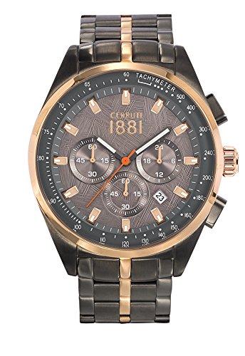 Armbanduhr CERRUTI 1881 Stahl Herren 44 mm