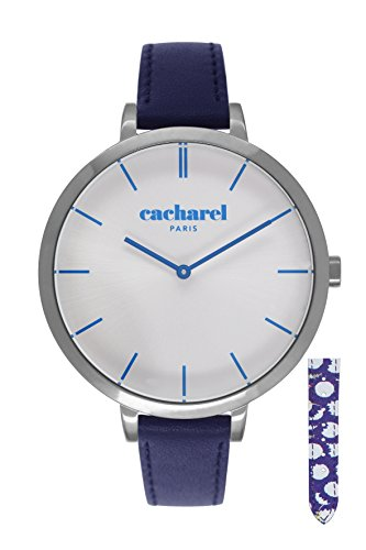 Cacharel Damen Armbanduhr Analog Quarz Leder CLD 032 FG