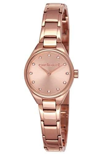 CLD 0452TM Cacharel Damen-Armbanduhr Alyce Quarz analog Stahl vergoldet Rosa